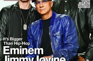 Eminem, Dr. Dre & Jimmy Iovine On The Cover Of XXL Magazine