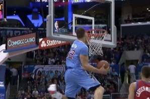 Blake Griffin Puts On a Show with a Duo of Windmill Oop Finishes Against the Philadelphia Sixers (Video)
