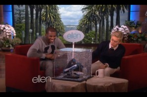 Ellen DeGeneres Gives Chris Paul a Custom Pair of Jordan CP3′s (Video)