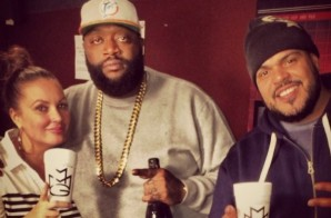 """Rick Ross Talks Diddy Really Snapping On Someone On His """"Nobody"""" Record & More"""