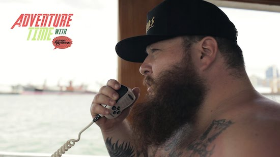 WgV5nHk Adventure Time With Action Bronson (Part 1) (Vlog)