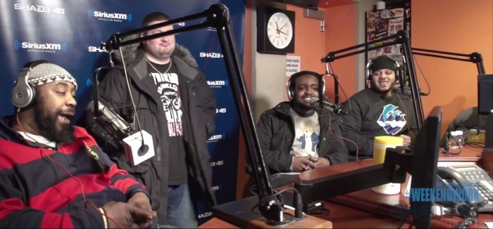apollopricecaesar Sean Price, Apollo The Great & Rim The Villin Visit Weekend Work With DJ Caesar On Shade45