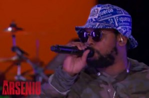 ScHoolboy Q – Man Of The Year (Live On Arsenio) (Video)