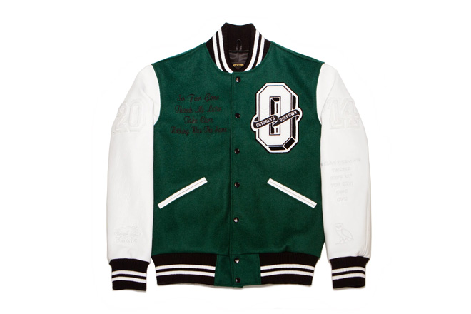 drake releases ovo tour jacket with roots canada 1 Drake Reveals OVO & Roots Canada Tour Jackets