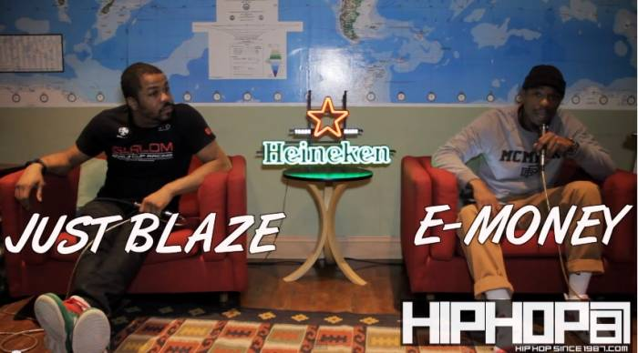 justblaze1 Just Blaze Talks Motivation, Classic Beats & Creating Ringtones With HHS1987 For #HeinekenGreenRoom Series