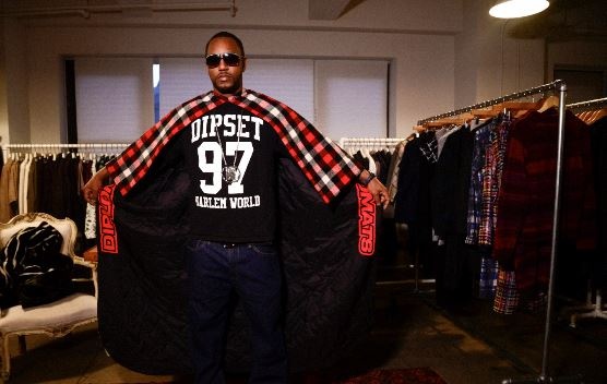 k1 Cam'ron Hooks Up With Designer Mark McNairy To Create Custom Capes