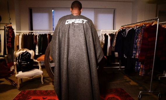 k2 Camron Hooks Up With Designer Mark McNairy To Create Custom Capes