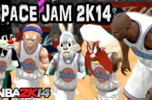 Tune Squad vs. Monstars: Space Jam NBA 2K14 Mod (Video)