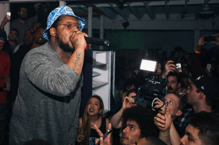 o1 Born x Raised & Schoolboy Q's Oxymoron Release Party (Photos)