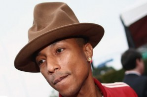 Pharrell Discusses Grammy Hat & Updates Chad Hugo's Production Work (Video)