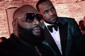 "Rick Ross, Lebron James & The Roots Perform ""FWMYKIGI"" At GQ All-Star Weekend Party"