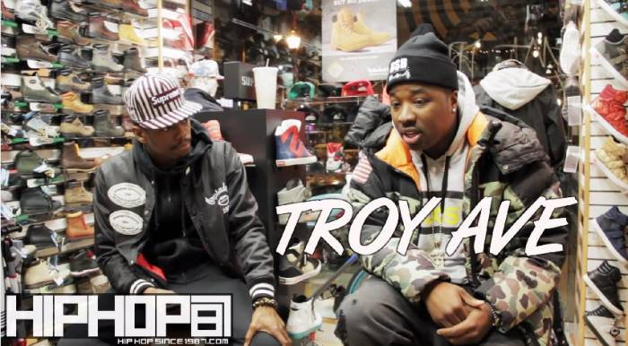 troyave2 Troy Ave Talks New Single, Ideal Record Deal Scenario, Working With Philly Artists & More (Video)