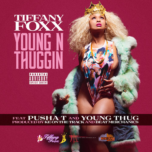 unnamed-110 Tiffany Foxx x Pusha T x Young Thug - Young N Thuggin (Single Artwork)