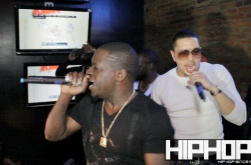 "Black Deniro & Digitts Performs ""Dope Boy"" at the ""It's More 2 Da Story"" release party (Video)"