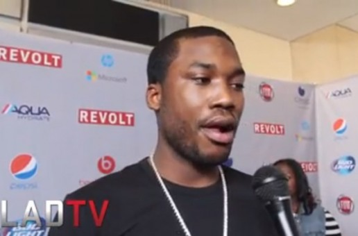Meek Mill Says He's 70 Percent Done With His New Album