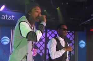 Juicy J & Wiz Khalifa Perform on Jimmy Kimmel Live (Video)