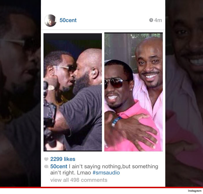 0303 nowm 50cent instagram 4 50 Cent Disrespects Diddy, Rick Ross, & Steve Stoute On Instagram & Video
