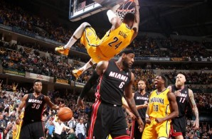 Paul George Dunks on Lebron James after Nasty Crossover (Video)