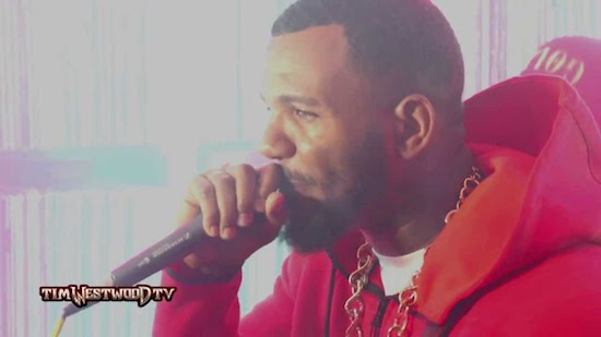 AgfKH9e The Game & LA Kings – Tim Westwood Freestyle (Video)