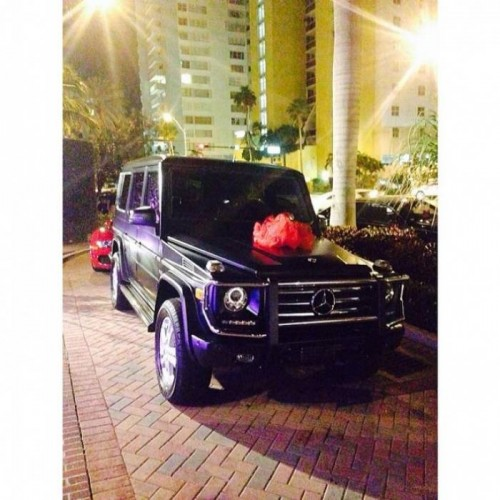Bria Mercedes G Wagon 500x500 Birdman Gives Daughter A Mercedes G Wagon For Her Sweet 16 (Photo)