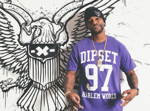 CamRon_Dipset_USA_Clothing Cam'Ron On Dipset USA Clothing Release (Video)