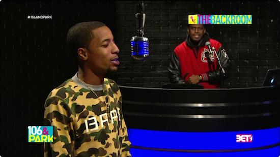 GDddqqI Rockie Fresh – 106 & Park's The Backroom Freestyle (Video)