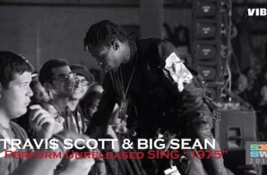 Travi$ Scott & Big Sean Debut '1975' At SXSW (Video)