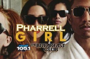 Pharrell Talks To The Breakfast Club About Album Cover & More