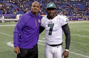Adrian Peterson wants Vikings to Sign Mike Vick