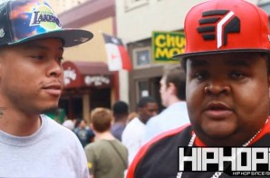 "Fred The Godson Talks SXSW, his new project ""Fat Boy Fresh"" & More with HHS1987 (Video)"