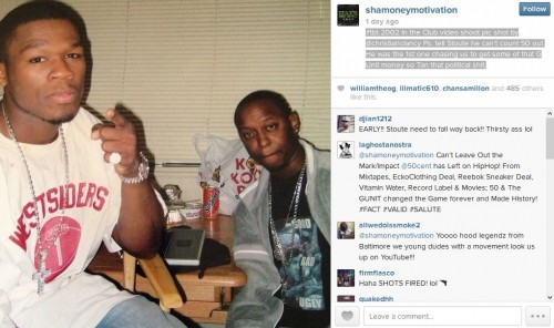 Sha_Money_Instagram_1 Sha Money XL Addresses Steve Stoute's Comments About 50 Cent