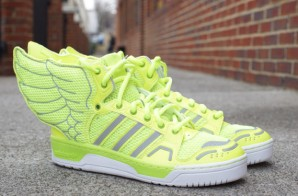 "Jeremy Scott x Adidas JS Wings 2.0 ""Neon"" (Photos)"