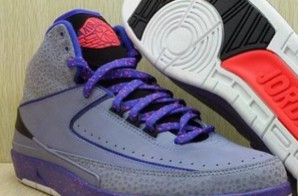 "Air Jordan 2 ""NightShade"" (Purple x Red x Black) (Photo)"