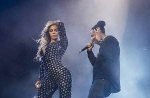 Beyonce Brings Out Jay Z In London (Video)