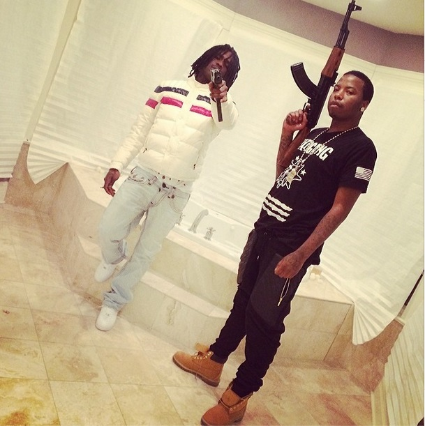 chiefkeef Chief Keef Implicated In Chicago Shooting; Victim In Critical Condition