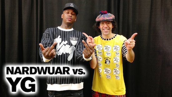 fCN7H3E YG Vs. Nardwuar (Video)