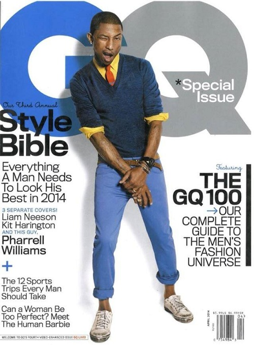 gq Pharrell On The Cover Of GQ Magazine