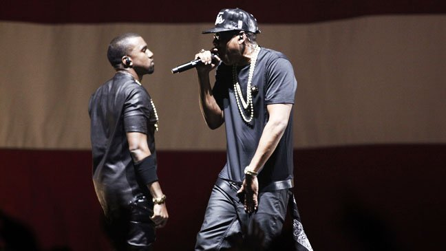 jay_z_kanye_west The Throne: Jay Z and Kanye West Perform at Samsung's SXSW Concert Series (Video)