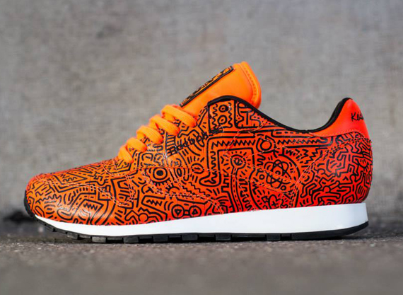 keith-haring-reebok-classic-leather-lux-spring-2014 Reebok Classic Leather Unveils It's 2nd Installment Of It's Luxury Keith Haring Sneaker (Photos)