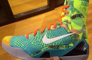 "Nike Kobe 9 Elite ""Influence"" (Photo)"