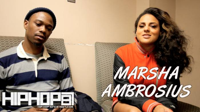 marsha ambrosius dc interview Marsha Ambrosius Talks Upcoming 'Friends & Lovers' Album, Current Status Of Philly R&B And More With HHS1987 (Video)