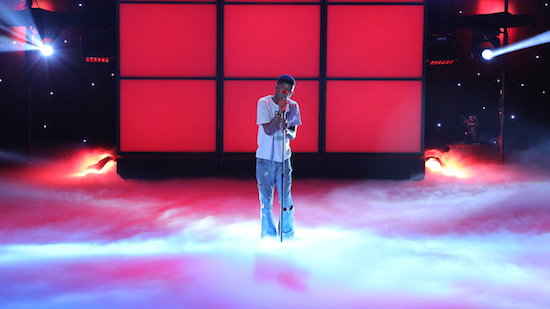 nSG6M4Q Kid Cudi On The Arsenio Hall Show + Performs <em>Internal Bleeding</em> (Video)