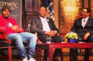 Watch Michael Dyson Interview Nas At Georgetown University In DC! (Video)