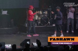 Watch As Nas Brings Out Fashawn During Mas