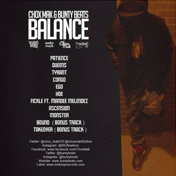 photo-23 Chox-Mak & Bunty Beats - Balance (Mixtape)