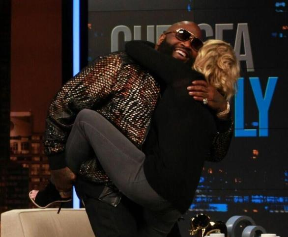 rick lately Rick Ross Talks Mastermind, 50 Cent, Wing Stops & More w/ Chelsea Lately (Video)