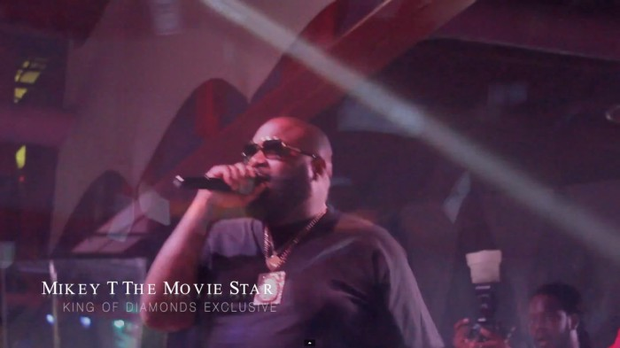 rick-ross-1 Rick Ross Celebrates Mastermind Hitting #1 on the Charts @ King of diamonds (Dir. By Mikey T The Movie Star) (Video)