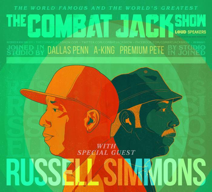 russell simmons combat jack Russell Simmons on The Combat Jack Show