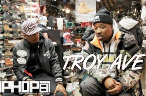 Troy Ave Talks Being The Best, Adidas Endorsement Deal, His Biggest Risk As An Artist & More (Video)