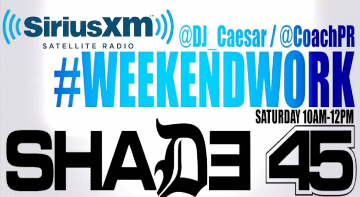 weekend work Uncle Murda Visits Weekend Work With DJ Caesar On Shade45